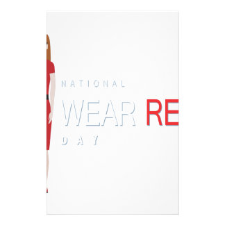 4th February - Wear Red Day - Appreciation Day Stationery