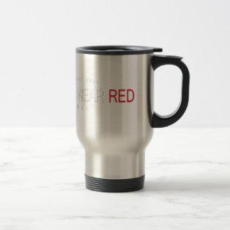 4th February - Wear Red Day - Appreciation Day Travel Mug