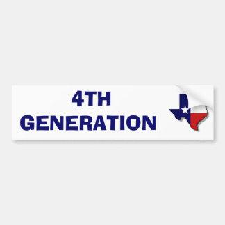 4TH GENERATION BUMPER STICKER