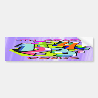 4th Grade Rocks - Numbers Bumper Sticker