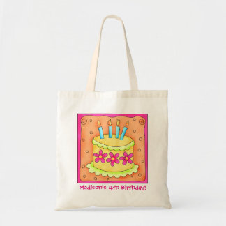 4th Happy Birthday Cake Name Personalize Girl Gift
