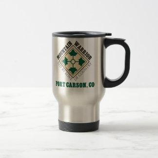 4th ID Mountain Warrior Fort Carson Travel Mug