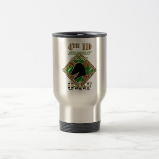 4th ID Steadfast and Loyal Travel Mug