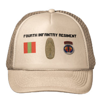 4th INF 56th FA Pershing Professional Trucker Hat