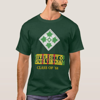 4th Inf Div University of South Vietnam Shirt