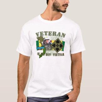 4th Inf Div - Vietnam (w/CIB) T-Shirt