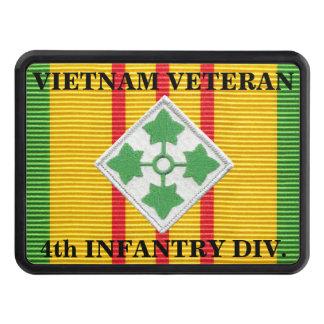 4th Infantry Division VSM Ribbon Hitch Cover