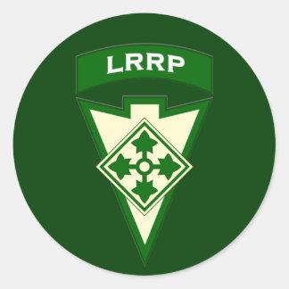4th Infantry LRRP Recondo pocket patch sticker UA