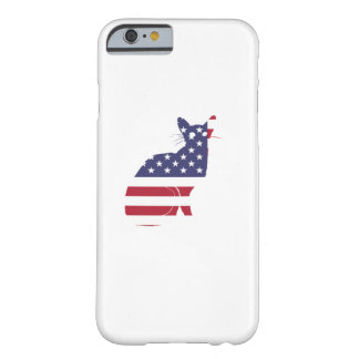 4th July Fourth of July  Cat Independence Day Barely There iPhone 6 Case