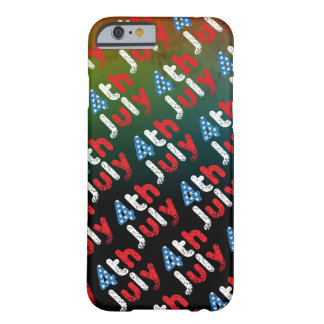 4th July Grunge Effect Barely There iPhone 6 Case