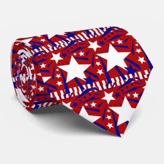 4th july patriotic tie