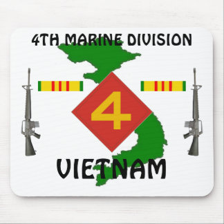 4th Marines vietnam mousepad 1/w