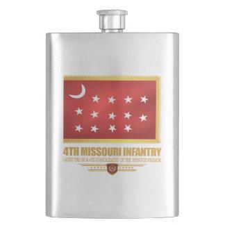 4th Missouri Infantry Hip Flask
