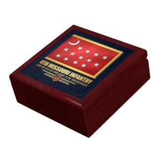 4th Missouri Infantry Trinket Boxes