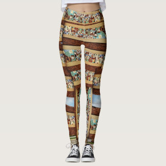 4th n Rhode Island Leggings