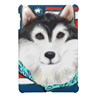 4th of July Alaskan Malamute iPad Mini Case