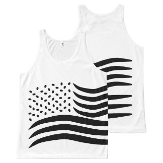 4th of July All-Over-Print Tank Top