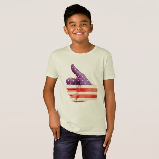 4th of July American Flag Thumbs Up T-Shirt