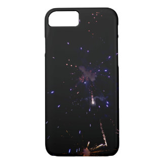 4th of July black background iphone case