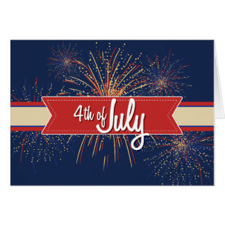 4th of July Card#4 Card