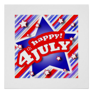 4th of July Celebration Poster