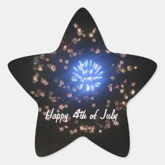 4th of July Celebration Sticker