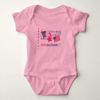 4th of July Custom Baby Shirt