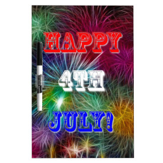4th Of July. Dry-Erase Whiteboards