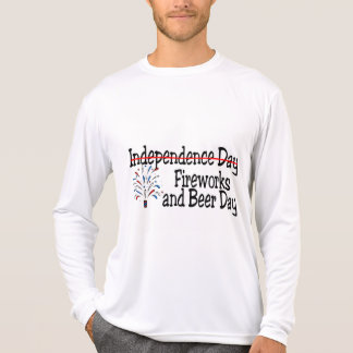 4th of July Fireworks and Beer Day T-Shirt