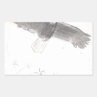 4'th of july fireworks bald eagle drawing eliana.j sticker