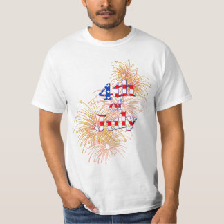 4th of July Fireworks Mens T-Shirt