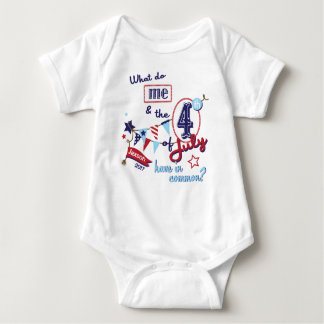 4th of July Funny Bodysuit July 4th Funny Shirt