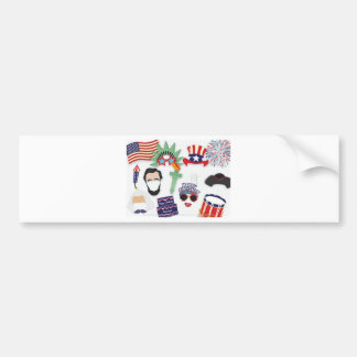 4th of July holiday - Independence Day Bumper Sticker