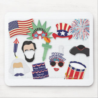 4th of July holiday - Independence Day Mouse Pad
