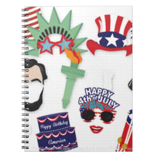 4th of July holiday - Independence Day Notebook