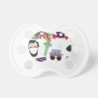 4th of July holiday - Independence Day Pacifier