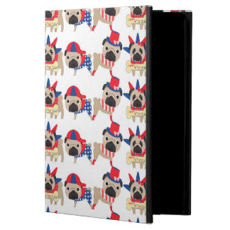 4th of July Independece Day Pugs Cover For iPad Air