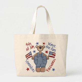4th Of July Kids Patriotic Tote Bag