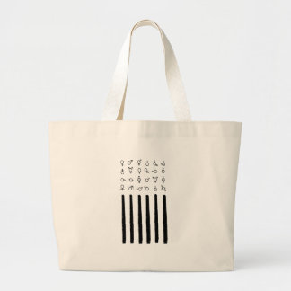 4th of July LGBTQ Friendly American Flag T- shirt Large Tote Bag