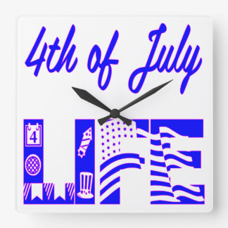 4th Of July Life FB.com/USAPatriotGraphics © Wallclock