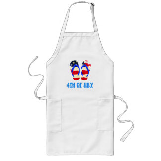 4th of July Long Apron