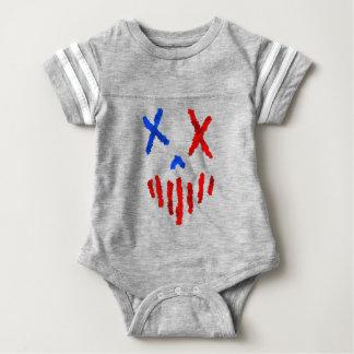 4th of July Modern American  Heathen Baby Bodysuit