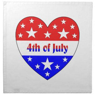 4th of July Napkin