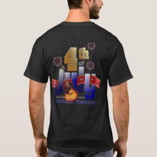 4th of July Nashville Men's Shirs T-Shirt