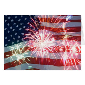 """""""4th OF JULY PARTY INVITATION"""" Card"""