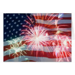 """""""4th OF JULY PARTY INVITATION"""" Greeting Card"""