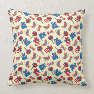 4th Of July Party Pillow