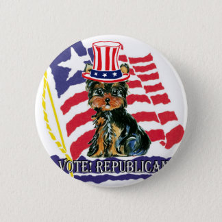 4th of July Poo 2 Inch Round Button