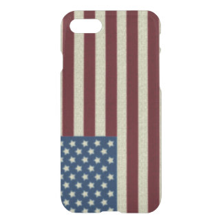 4TH Of July Red White And Blue American Flag iPhone 7 Case