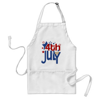 4th of July Stars Apron